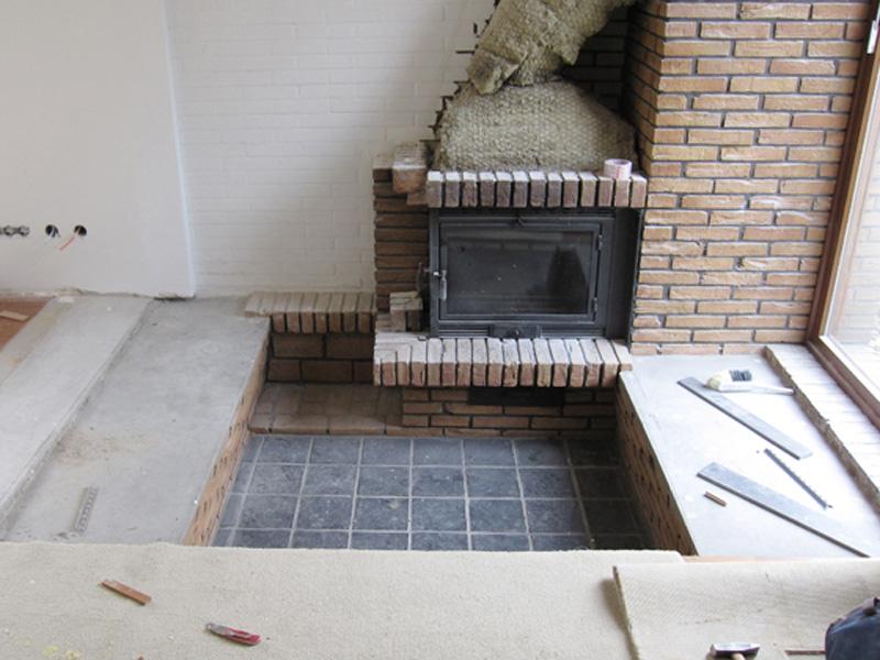 kaminecke fliesen amped for. Black Bedroom Furniture Sets. Home Design Ideas